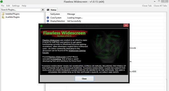 Flawless Widescreen