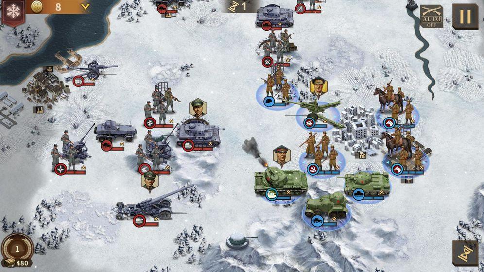钢铁命令:将军的荣耀3安卓版 V1.0.6