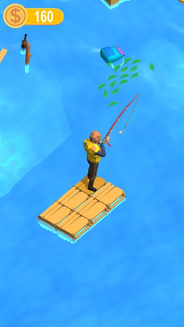 木筏钓鱼记安卓版 V1.0.0