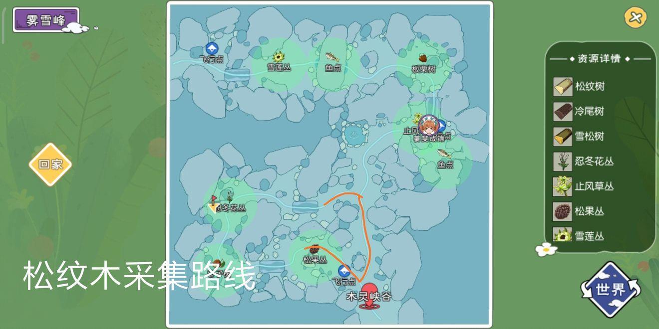 小森生活松纹木在哪里 松纹木获取方法详细介绍