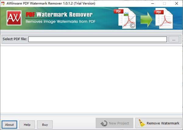 AWinware PDF Watermark Remove官方版