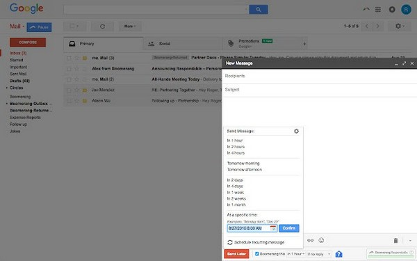 Boomerang for Gmail官方版