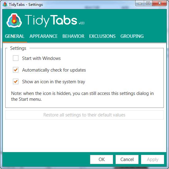 TidyTabs免费版