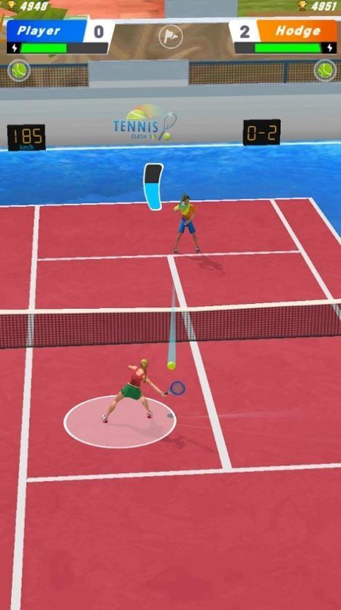 网球之星终极碰撞安卓版 v1.0
