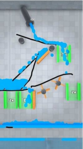 填满彩水游戏
