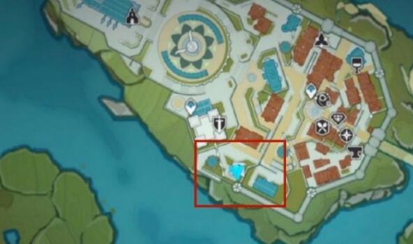原神歌德大酒店老板位置坐标关键