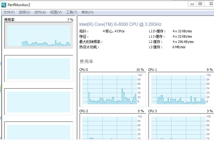 监控CPU性能的应用