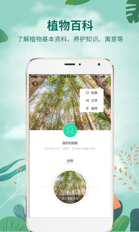 AI识物花草识别app
